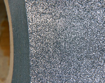 "Glitter Gray 20"" Heat Transfer Vinyl Film By The Yard"