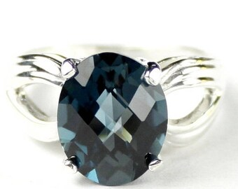 On Sale, 30% Off, London Blue Topaz, 925 Sterling Silver Ladies Ring, SR361