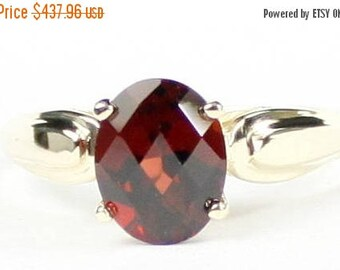 On Sale, 30% Off, Mozambique Garnet, 14Ky Gold Ring, R058