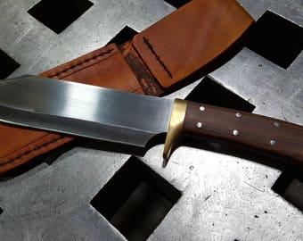 Handmade bowie knife