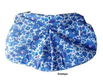 Trousse liberty betsy bleu