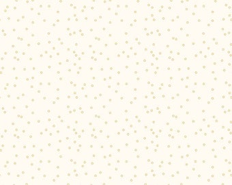 Bee Backgrounds Circle Honey Yardage - C6384-HONEY by Lori Holt of A Bee in My Bonnet for Riley Blake Designs