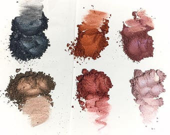 TOTAL ECLIPSE Mineral Eye Shadow Collection - Natural Makeup - Gluten Free Vegan Face Color