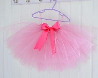 Girls Pink Tutu, Flower Girl Tutu, Girls Tutu, Flower Girl Dress, Dusty Pink Tutu, Ballet Tutu, Baby Tutu, Wedding Tutu, Tutu Dress
