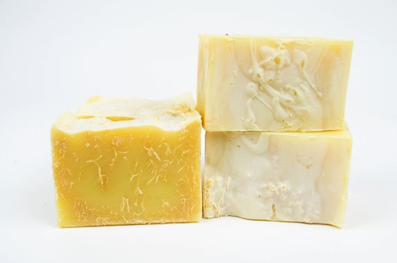 Lemongrass Loofah Olive Oil Soap