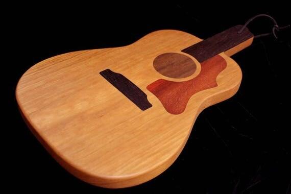 Custom Acoustic Guitar Cutting Board