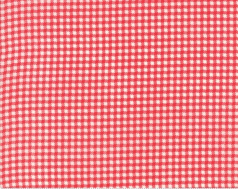 Essential Check Red for Moda, 1/2 yard, 8653 21