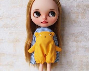 Blythe dress/ OBAKE dress06/cotton/by T-kuma66