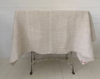 Cream Tablecloth Linen for Tables Upholstery