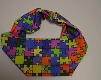 Puzzled Headband