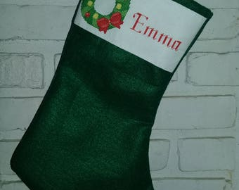 Custom Christmas stocking