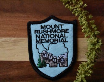 Vintage Mount Rushmore National Monument True to Life Patch