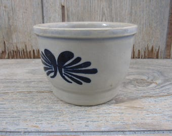 Vintage Salt Glaze Pottery Bowl