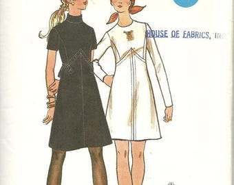 25% OFF Butterick Pattern 5942   Misses One-Piece Dress   Size 12