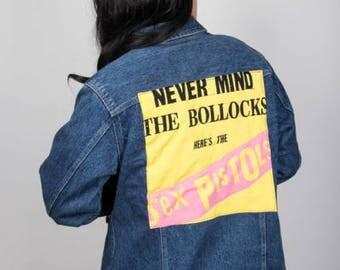 Sex Pistols Denim Jacket