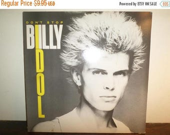 Save 30% Today Vintage 1981 Vinyl EP Record Billy Idol Don't Stop Near Mint Condition 11139