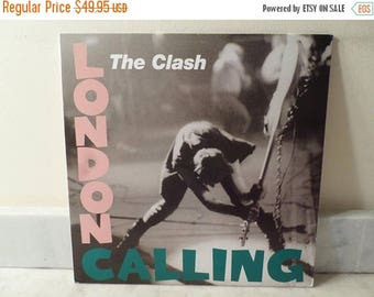 Save 30% Today Vintage Vinyl LP Record The Clash London Calling Two Record Set Near Mint Condition 180G Repress 14740