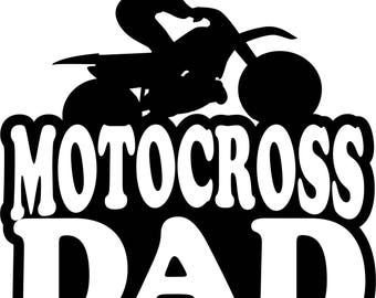 Motocross Dad Girl T Shirt/ Motocross Dad Shirt/ Motocross Dad Clothing/ Motocross Dad Gift/ Motocross Dad/ Female Motocross rider