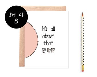 All About That Bump Card Set