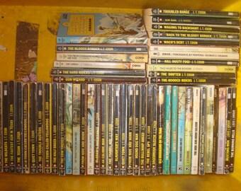Set of 54 JT Edson & Louis l'amour paperback books