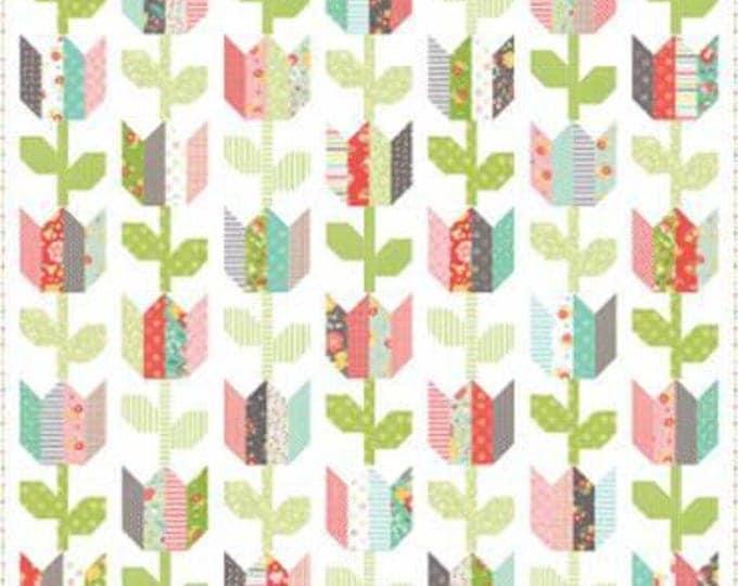 Tulip Market Quilt Pattern