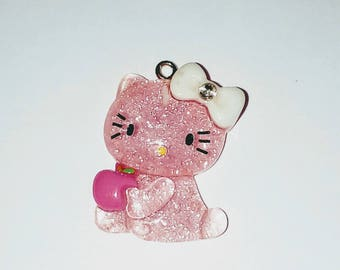 Cat 1 X pink kawaii 30mm