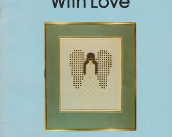 Embroidery book Hardanger with Love by Janice Love Step by Step Instruction Vintage 1979