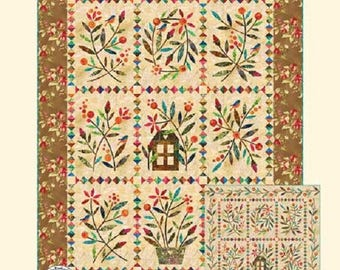 Home Sweet Home Quilt Pattern - Edyta Sitar - Laundry Basket Quilts - LBQ-0430-P
