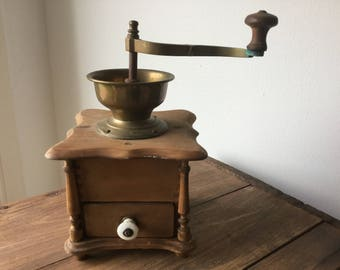 Vintage Coffee Mill, Coffee Grinder