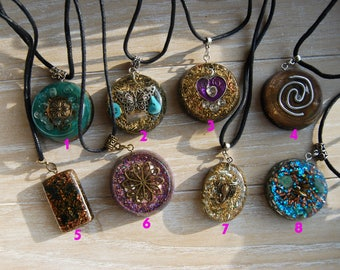 Orgonite® Pendants Orgone Pendant Necklaces Sale Gift Gifting