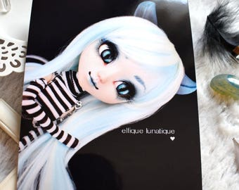 "Photography ""Cheshire"" - 11x15cm - Pullip, Doll photography, print, art"