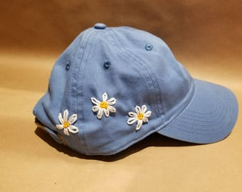 Daisies on the Side Hat