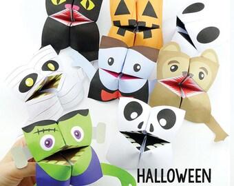 Halloween Cootie Catchers / Fortune Tellers