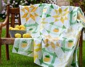 Lemon Fresh Quilt Pattern, PDF Quilt Pattern