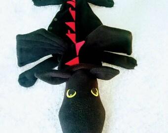 Dragon Pyjama Bag, Case, Holder, Animal, Gift.