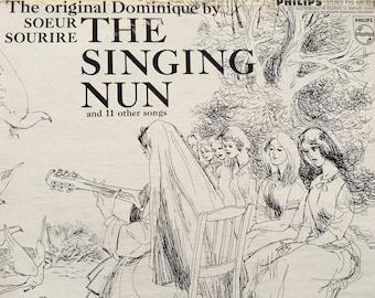 The Singing Nun - The Original Dominiue by Soeur Sourire - vinyl record