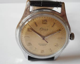 Swiss Onsa vintage watch  and excellent work from the 60s'