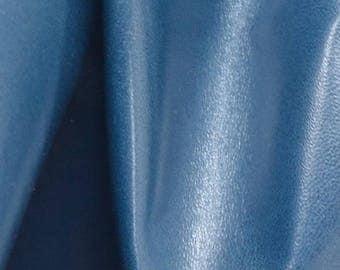 "Fashion Sky Blue Leather Cow Hide 8"" x 10"" Pre-cut 1 1/2 ounces BR-62952 (Sec. 4,Shelf 4,B)"