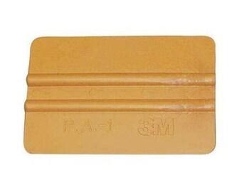 Vinyl Squeegee, Vinyl Hand Applicator, 3M Gold, decal application tool, 4 inch, craft vinyl supplies