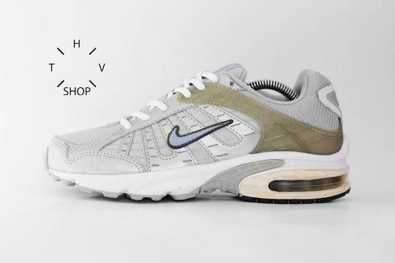 NOS Vintage Nike Air Aim Sneakers Silvery Grey