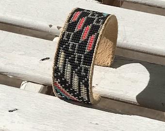 Beautifully Beaded Cuff Bracelet