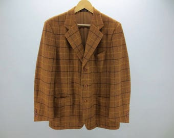 YSL Coat Vintage Yves Saint Laurent Vintage Coat YSL Men Size L Made In Italy
