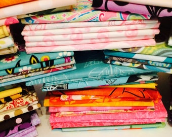 Fat Quarter Bundles - 100% Cotton Sewing Quilting Apparel Crafting Fabric