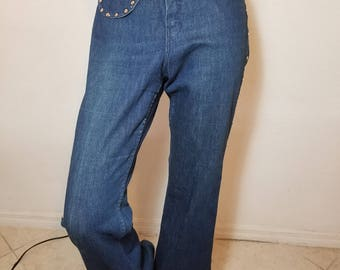 FREE  SHIPPING   1960 Bell Bottom  Jeans