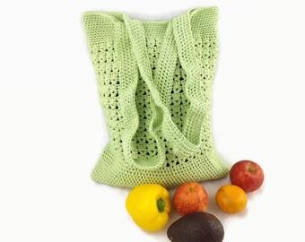 Market Bag, Beach Bag, Shopping Bag, Tote Bag, Large Shoulder Bag, Reusable Bag, Grocery Bag, Boho Bag, Mesh Bag, Crochet Bag, Crochet Tote