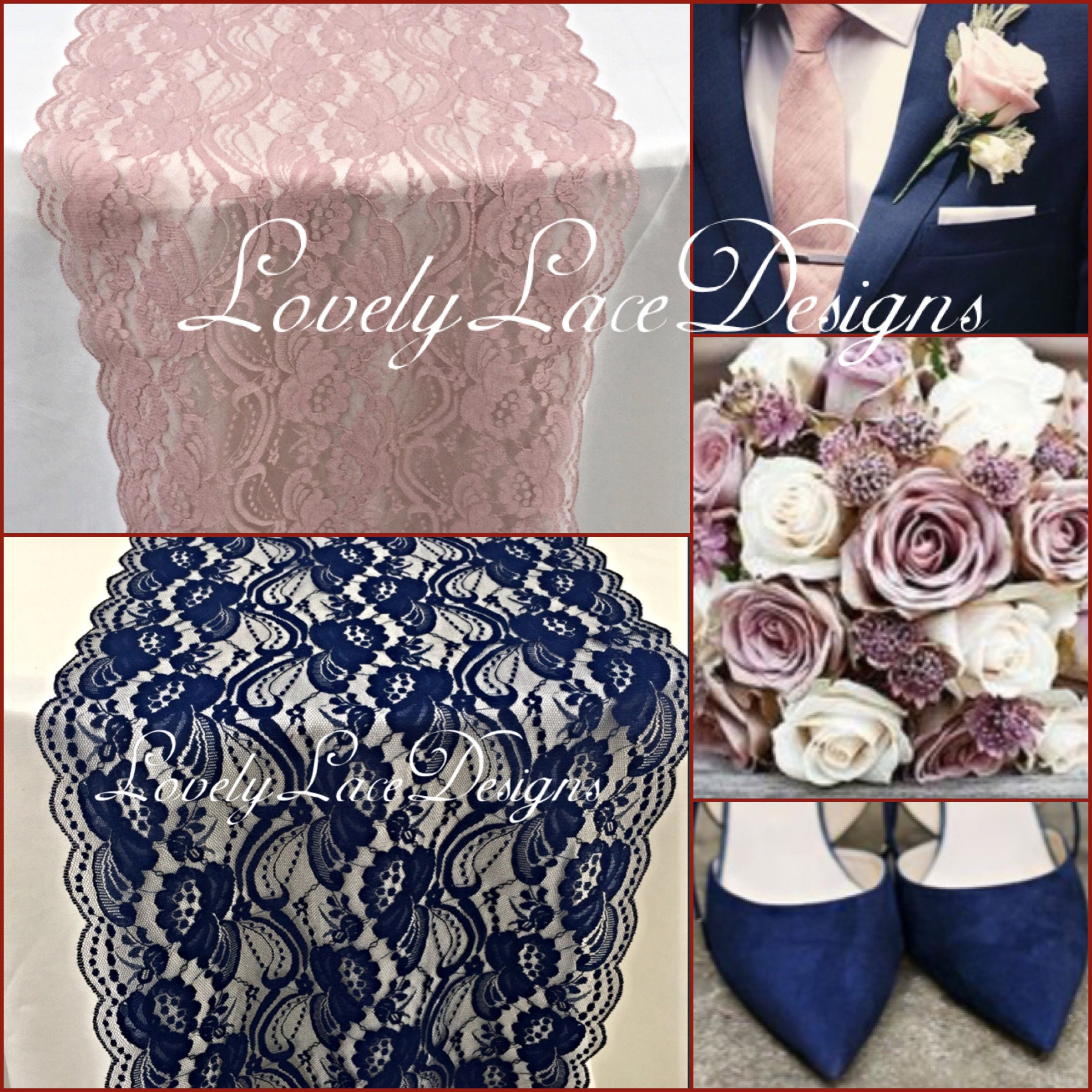 Navy Blue Bedroom Colors Dusty Pink Bedroom Accessories Small Bedroom Chairs Ikea Good Bedroom Color Schemes: Dusty Rose/Lace Table Runner/12wide/3ft -10ft Long/Wedding