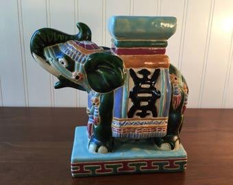 Elephant Plant Stand Etsy