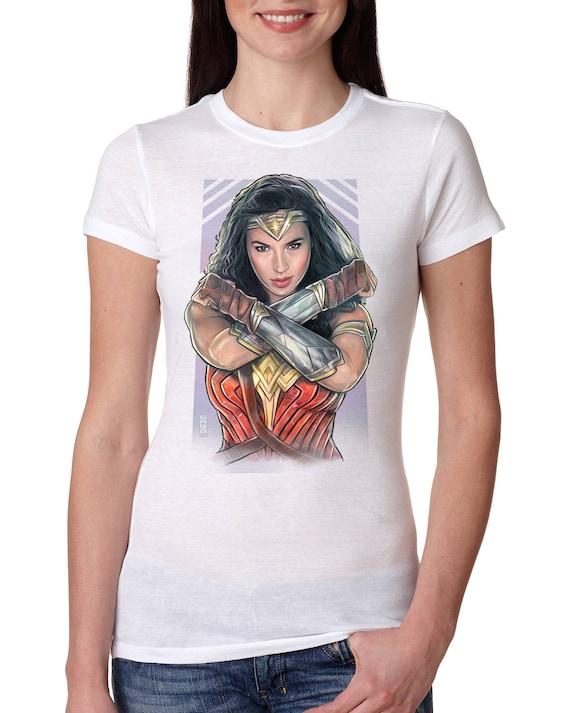Wonder Woman Women's T-shirt Gal Gadot