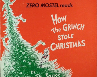 Zero Mostel----How The Grinch Stole Christmas