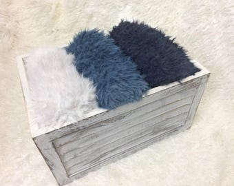 "NEW COLORS.......18"""" x 20""  or  18"" x  30"" Faux Flokati Fur, Newborn Baby Photo Prop, Flokati Look, Faux Sheep Fur, Luxury Photo Prop,"